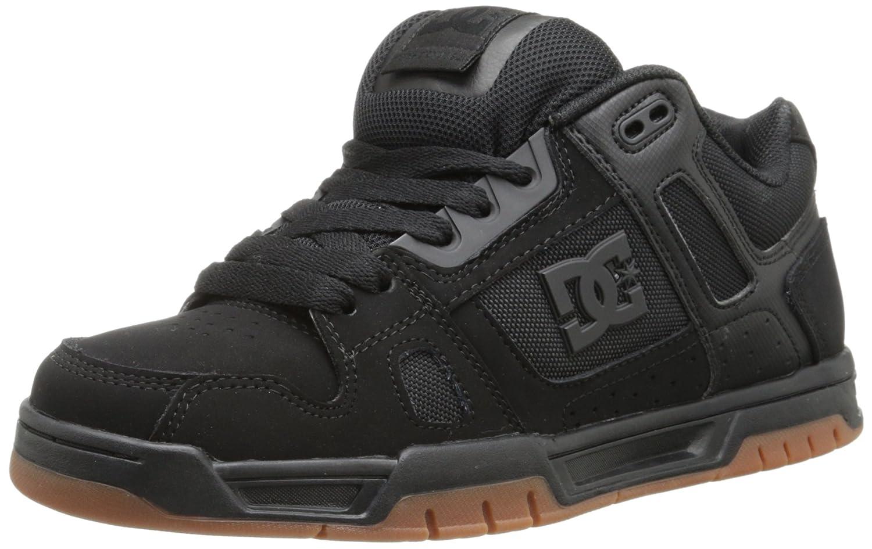 DC Shoes STAG D0320188 - Zapatillas de cuero para hombre 38 EU|Black/Gum