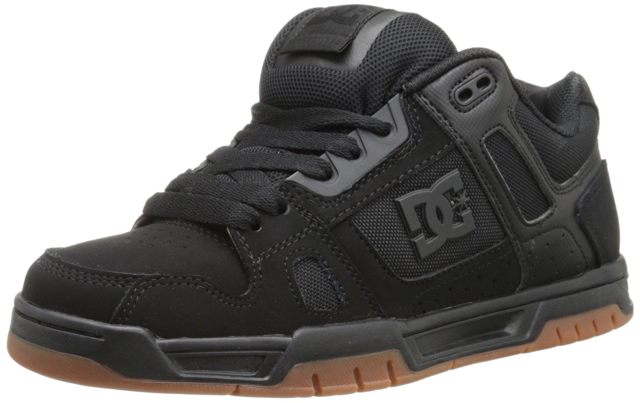 DC Shoes Mens Shoes Stag - Shoes - US 6 - Black Black/Gum US 6 / UK 5 / EU 38