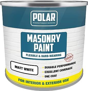 Polar Masonry Emulsion Paint - Best Exterior and Interior Matt Paint