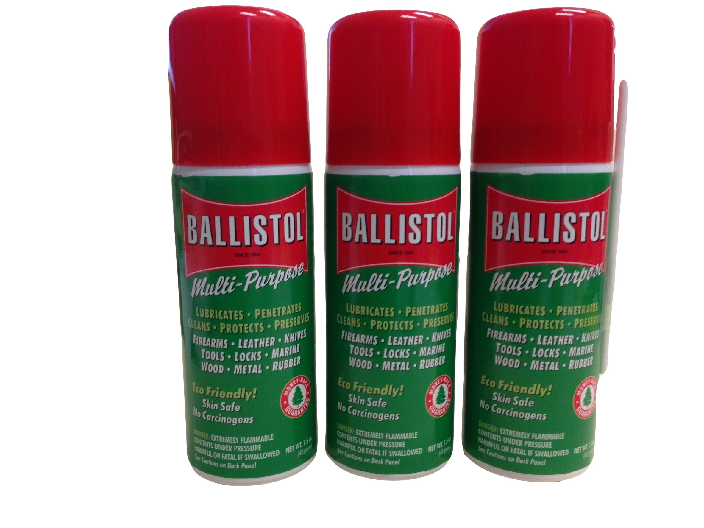 Ballistol Multi-Purpose Lubricant Cleaner Protectant Combo Pack #7