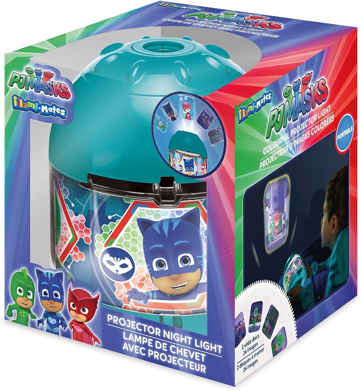 PJ Masks - Proyector de luz, acrílico, color turquesa: Amazon.es ...