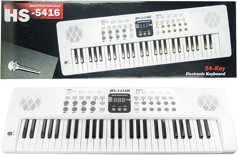 HS-5416 teclado con la grabación y el micrófono - 15 sonidos ...