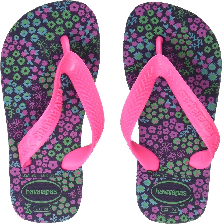 Havaianas Unisex Kids Flores Flip Flops