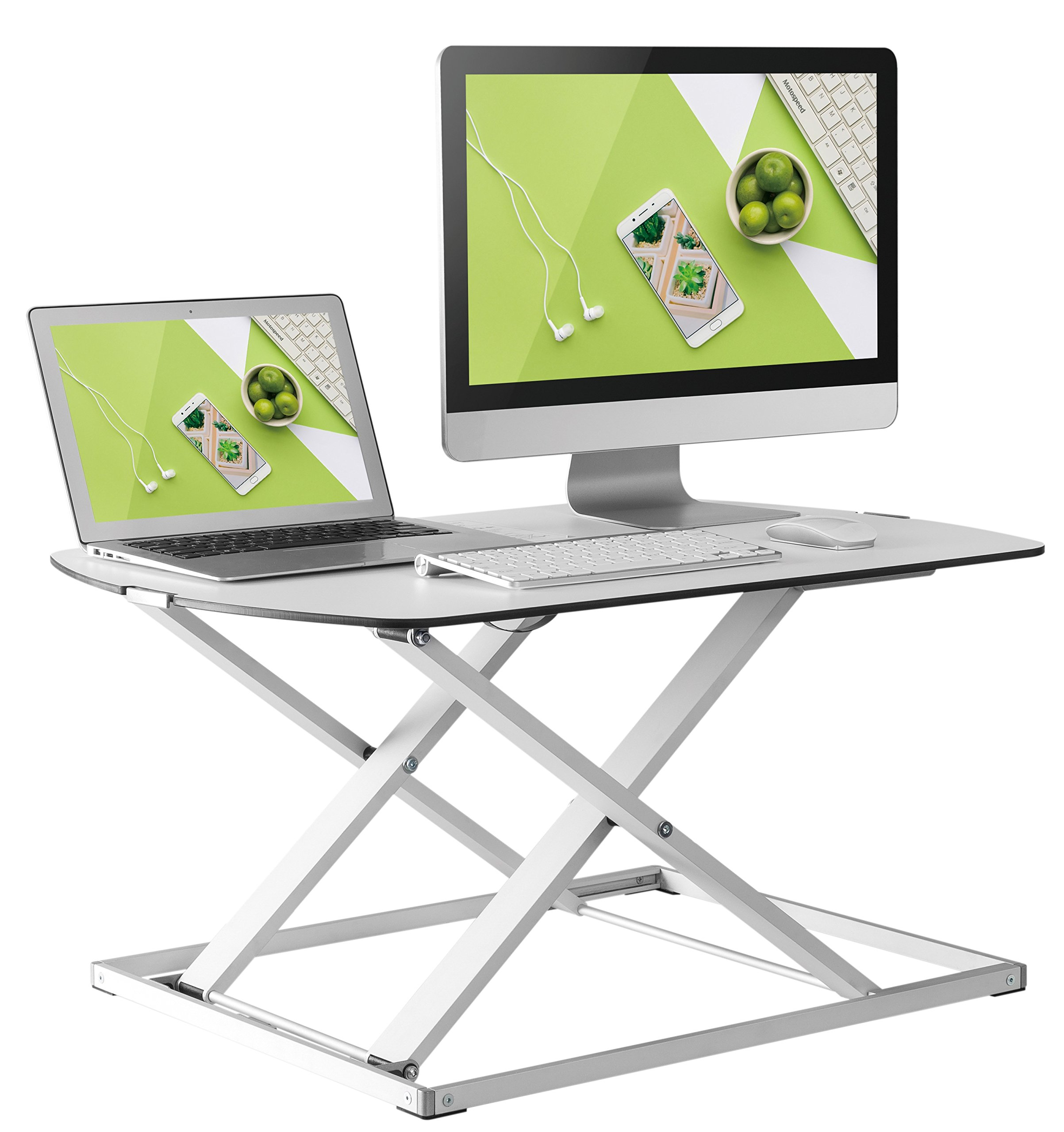 Husky Mounts Height Adjustable Standing Desk - Fully Assembled
