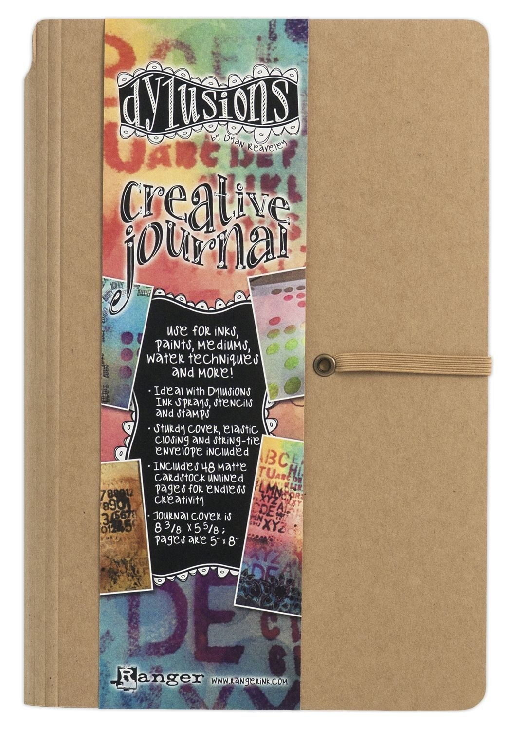 CRAFTERS WORKSHOP Dylusions Dyan Reaveley's Creative Journal, 5 by 8-Inch RANGER DYJ34117
