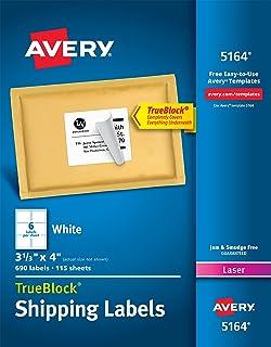 amazon com avery shipping address labels inkjet printers 600