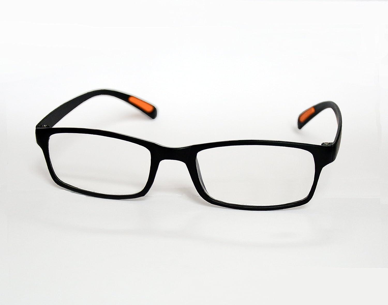 87886634ae4 Amazon.com   Reading Glasses Super Light Portable Full Rim Frame  Rectangular Men Women Reader   Sports   Outdoors