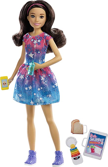 Barbie Skipper Babysitters Inc Toddler Boy Doll Blonde