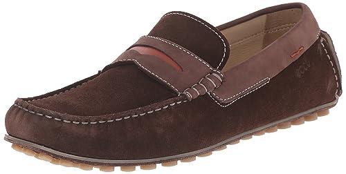 Ecco Dynamic Moc - Mocasines, Hombre, Color Marrón, Talla 39: Amazon.es: Zapatos y complementos