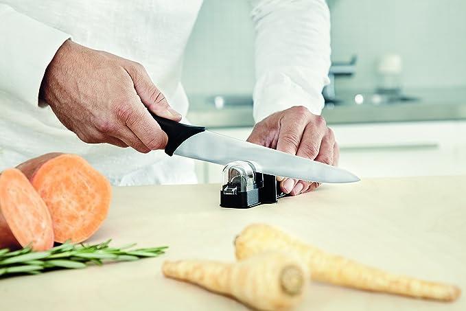 Fiskars Roll-Sharp Afilador de cuchillos con piedra de ...