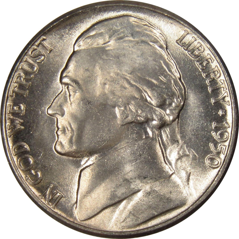 1950 BU Jefferson Nickel Pulled From OBWRoll