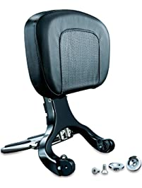 Kuryakyn 1661 Black/Chrome Multi-Purpose Driver Passenger Backrest