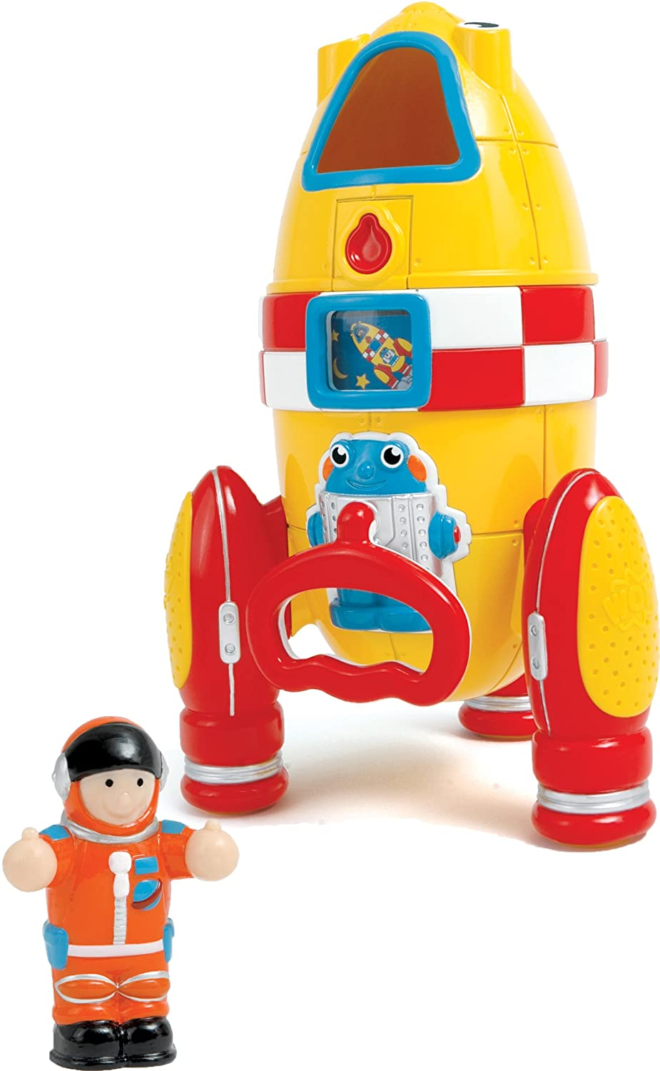 amazon com wow toys ronnie the rocket toys u0026 games