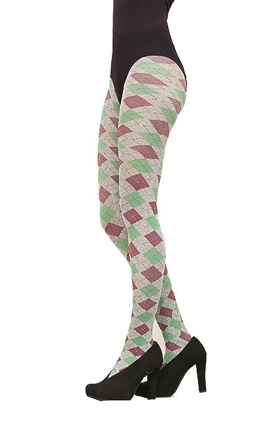 9d8bad56bad94 Cecilia de Rafael Irlanda Tights-XSmall-Rubelita at Amazon Women's Clothing  store: