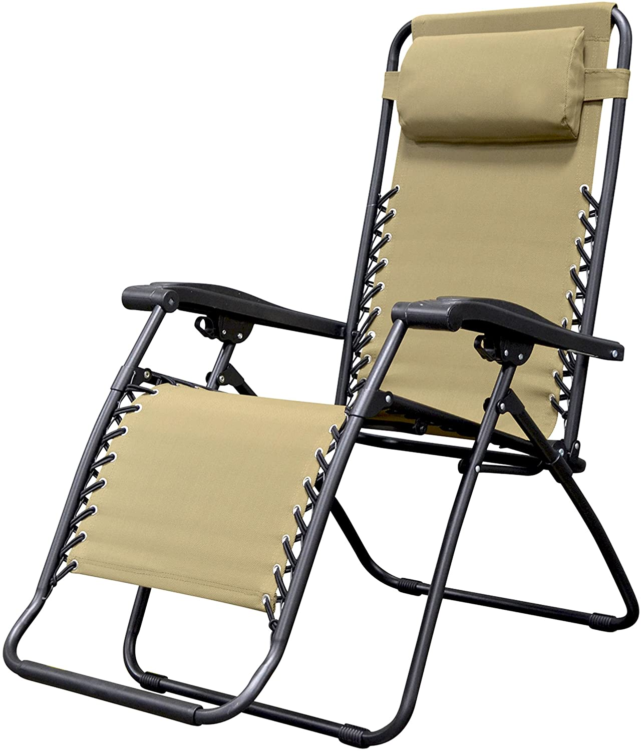 Caravan Canopy Sports Infinity Beige Zero Gravity Chair