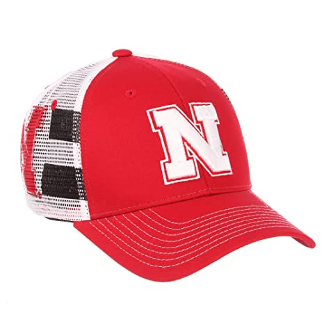 e73e2736ffb86 Image Unavailable. Image not available for. Color  Nebraska Cornhuskers  Official NCAA Doubletake Snap Back Adjustable Hat Cap by Zephyr 724996