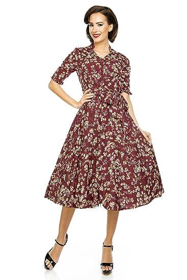 best service cccf0 ba8d5 Abito da donna, stile Classico, Rockabilly, moda anni 40/50 ...