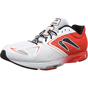 buy Newton Running Men's Distance VI Red/White Athletic Shoe - Size 8 US
