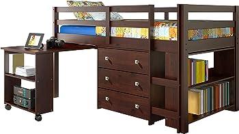 2.DONCO Kids Low Study 760-CP Loft Bed