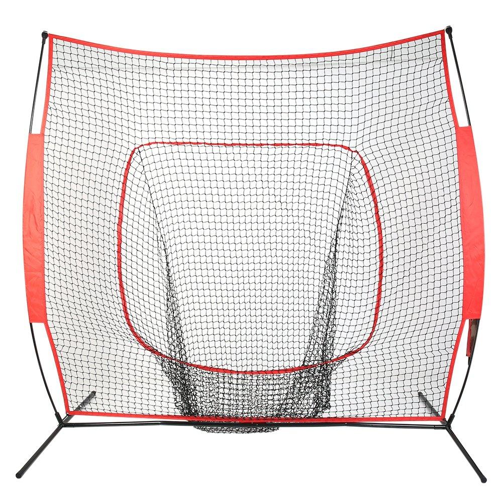 Cocohot Baseball/ Softball Practice Net Practice Batting, Pitching, Catching, Backstop Screen Equipment Training Tool