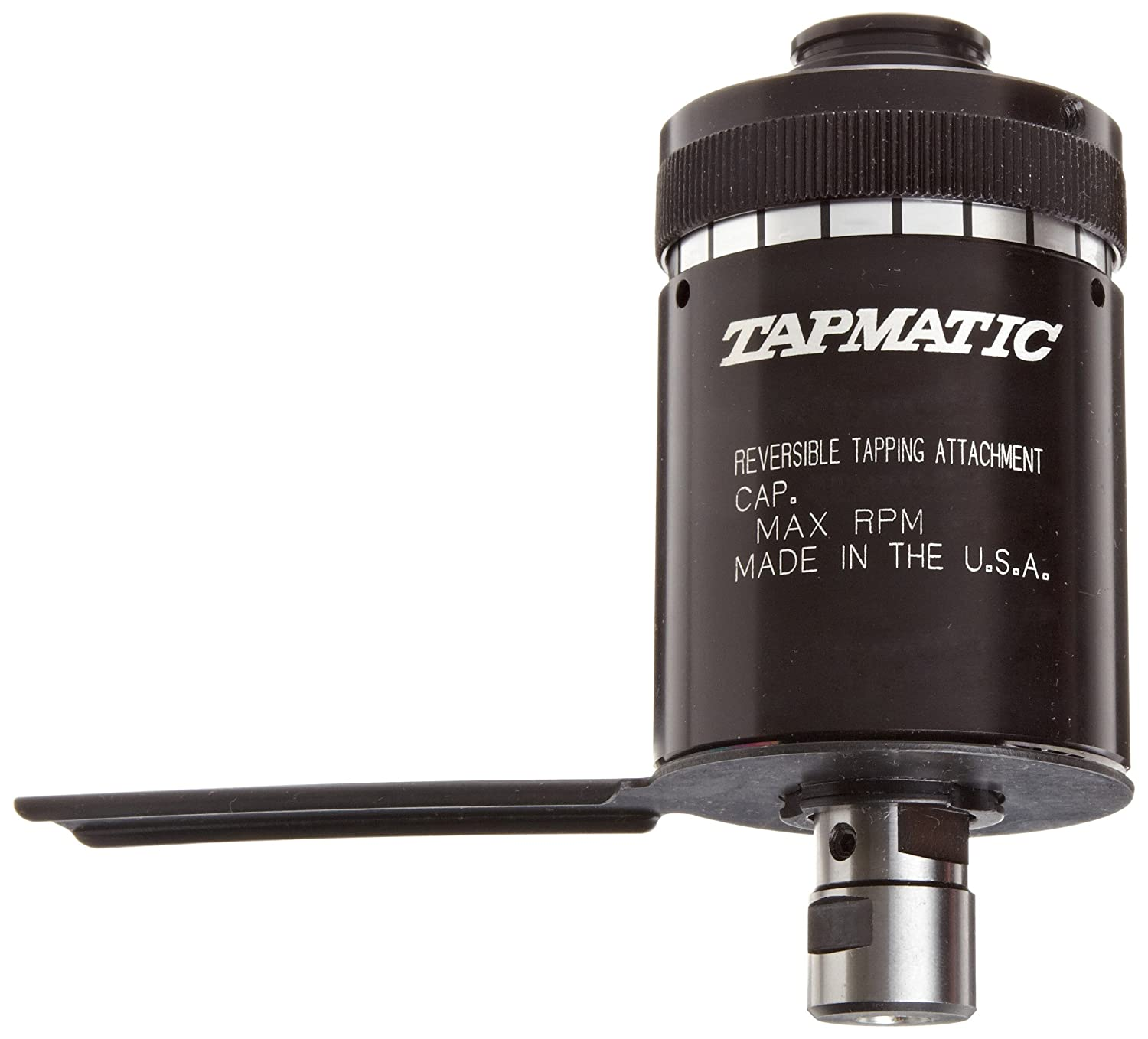 Tapmatic RX 30 Self-Reversing Tapping Head, 3/8'-24 Thread Mount, 0-1/4' and M1.4-M7 Capacity 3/8-24 Thread Mount 0-1/4 and M1.4-M7 Capacity Tapmatic Corporation 013037