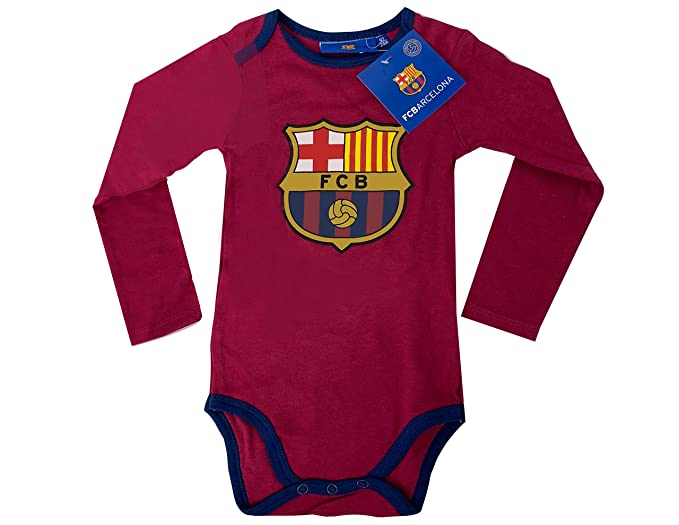 cfac8a19c2d Fc Barcelona Cotton Baby Clothes, Official Barcelona Bodysuit Romper,  Jumpsuit Baby Clothes, Toddler