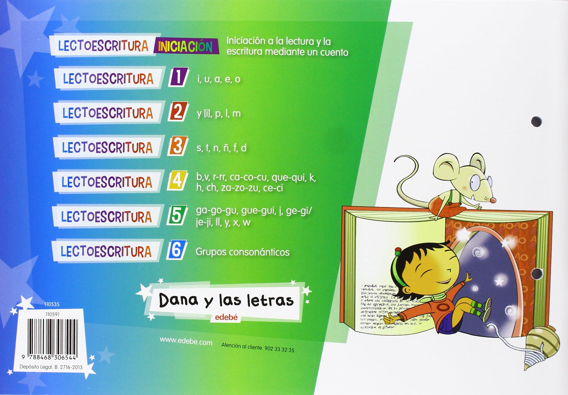 LECTOESCRITURA CUADERNO 4 + 1 CUENTO - 9788468306544: Amazon.es: Obra  Colectiva Edebé: Libros