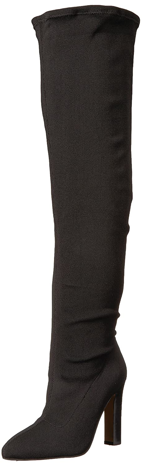 The Fix Women's Kendra Stretch Thigh High Heeled Boot by The+Fix