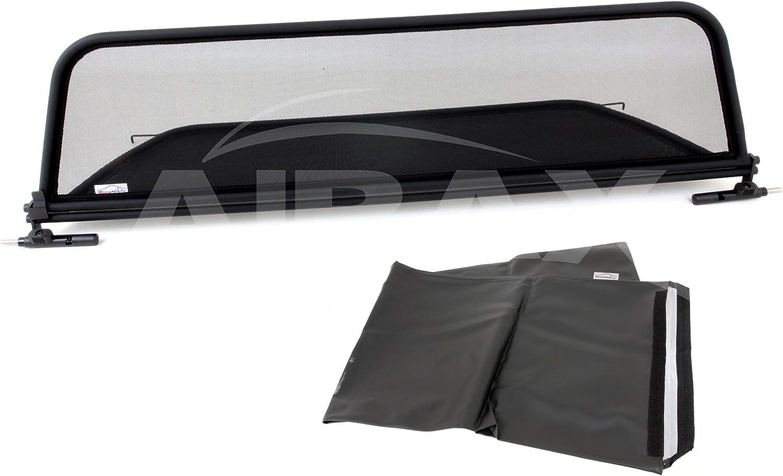 Airax Windschott f/ür Astra H Cabrio Windabweiser Windscherm Windstop Wind deflector d/éflecteur de vent