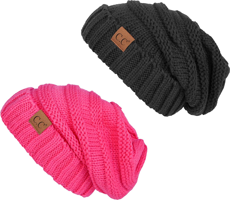 【国際ブランド】 Funky Junque Pink HAT レディース B07MLMQQY6 Melange 2 Pack - - Melange Grey & Candy Pink 2 Pack - Melange Grey & Candy Pink, 包丁とナイフ、はさみの杉山刃物店:89556d2a --- irlandskayaliteratura.org