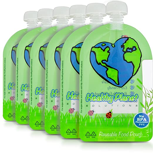 Reusable Food Pouch by Healthy Planet Solutions