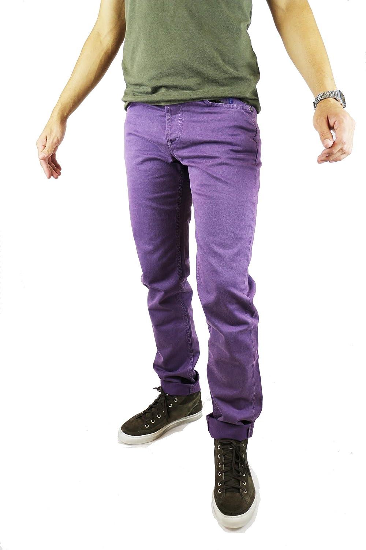 JECKERSON Pantalones Hombre Púrpura Algodón (size 30) best - tipytap.cl