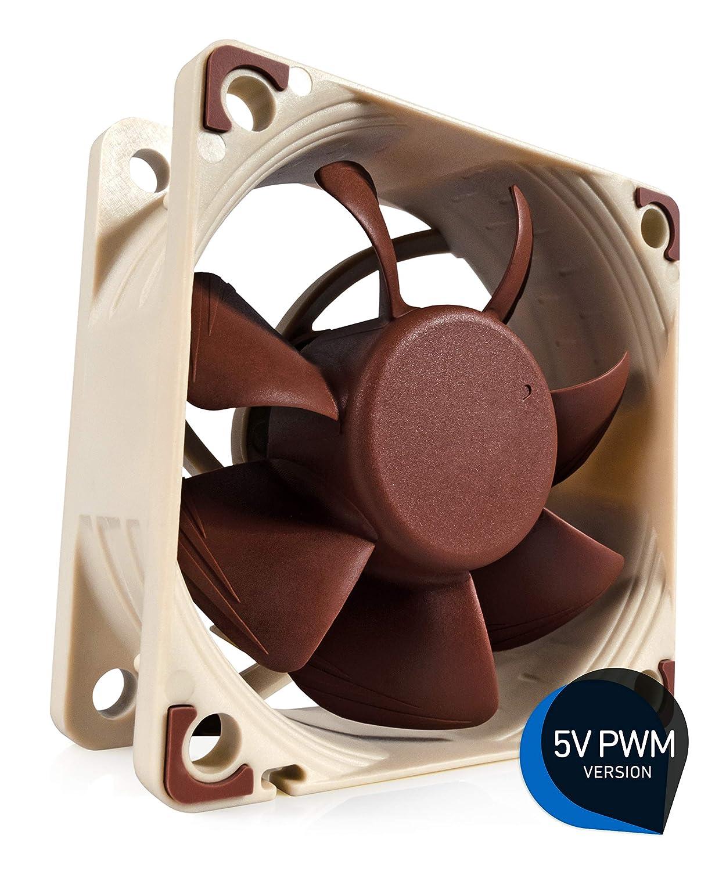 4 Broches Ventilateur Silencieux Haut de Gamme 60 mm, Marron Version 5V Noctua NF-A6x25 5V PWM