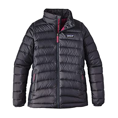0a18564cbc8f Amazon.com  Patagonia G Down Sweater Jacket Smolder Blue Girls S  Clothing