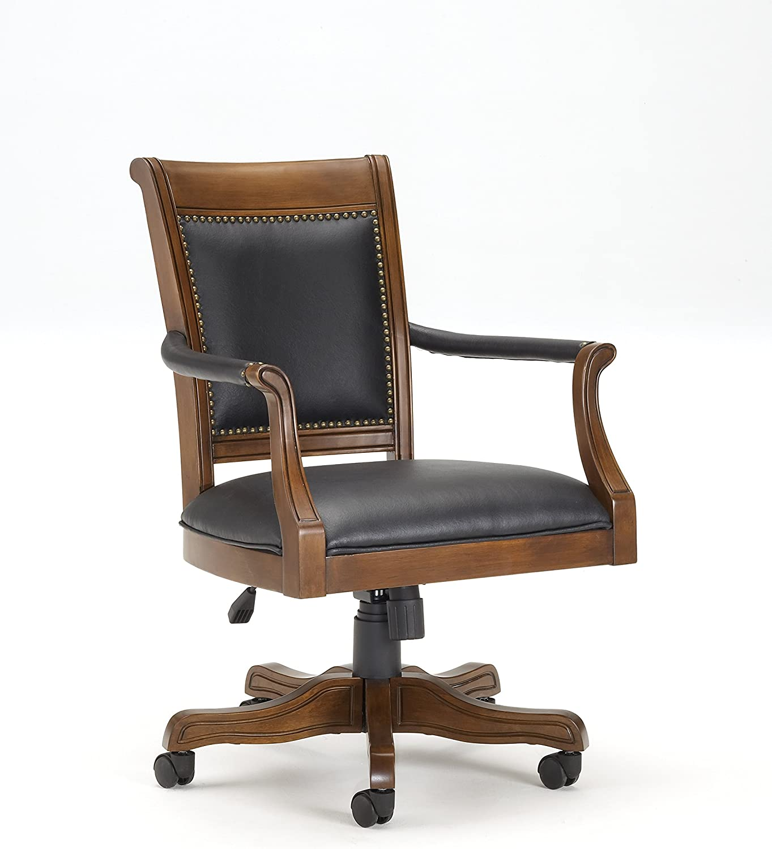 Hillsdale Furniture 6004-801 Kingston Square Game Chair, Black