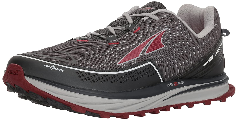 - Altra Men's TIMP iq Trail Runner, Charcoal rouge, 7 M US