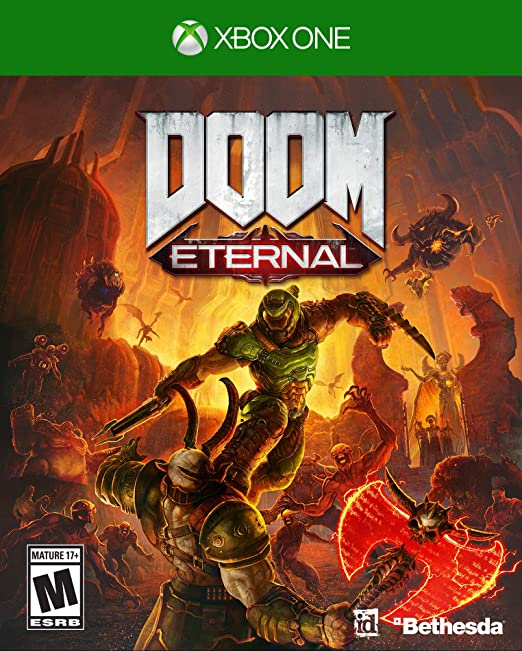 Doom Eternal Standard Edition Xbox One Video Games