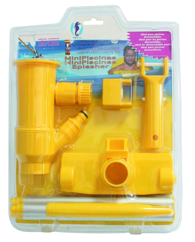 Limpiafondos compuesto filtro de PQS. Ideal para piscinas LINER / Desmontables / Minipiscinas.: Amazon.es: Jardín