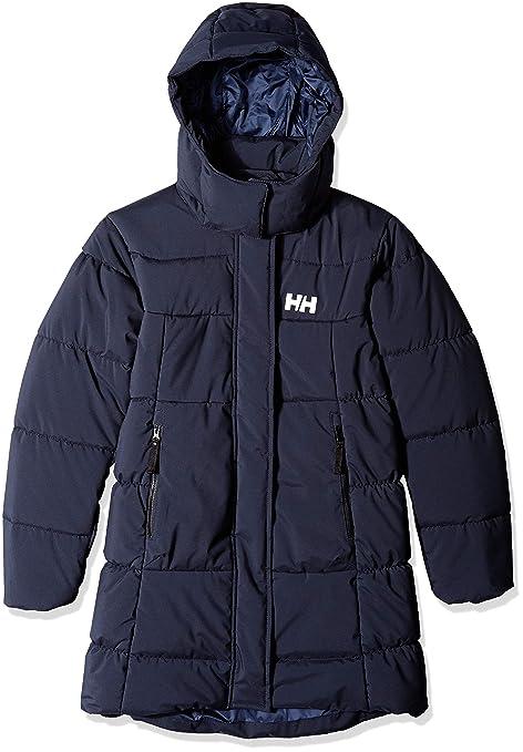Helly Hansen Jr Nora - Parka Infantil, Infantil, Color Azul Marino, tamaño 8