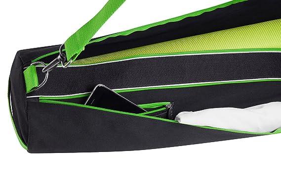 31b67678952f Yomad Yoga Mat Bag by AVIVA YOGA - Black Extra Large