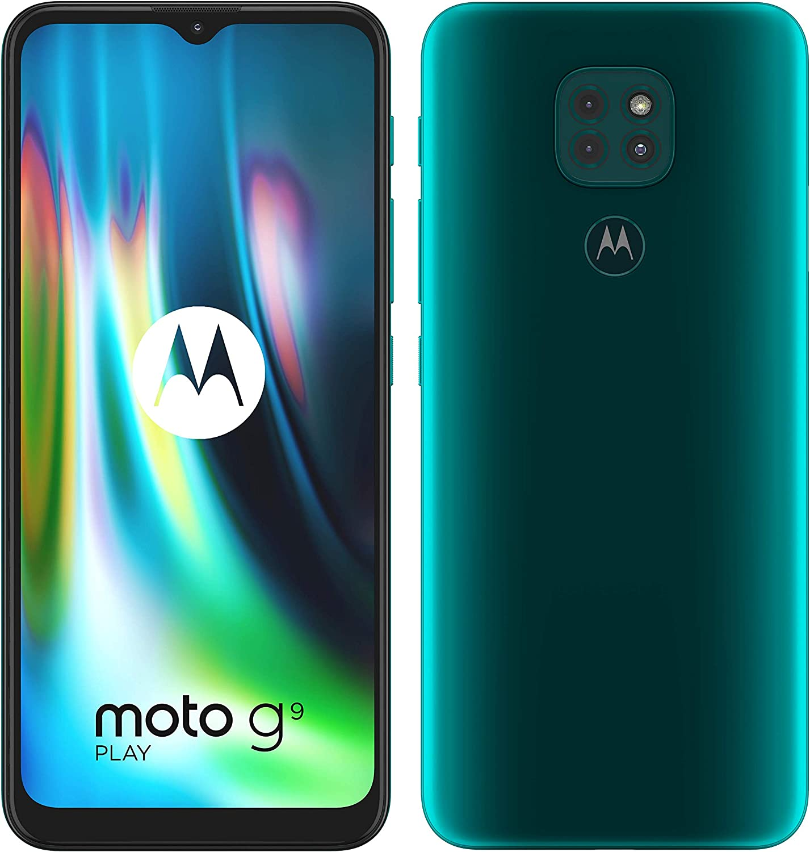 Motorola Moto G9 Play - Smartphone 64GB, 4GB RAM, Dual Sim, Forest Green:  Amazon.fr: High-tech