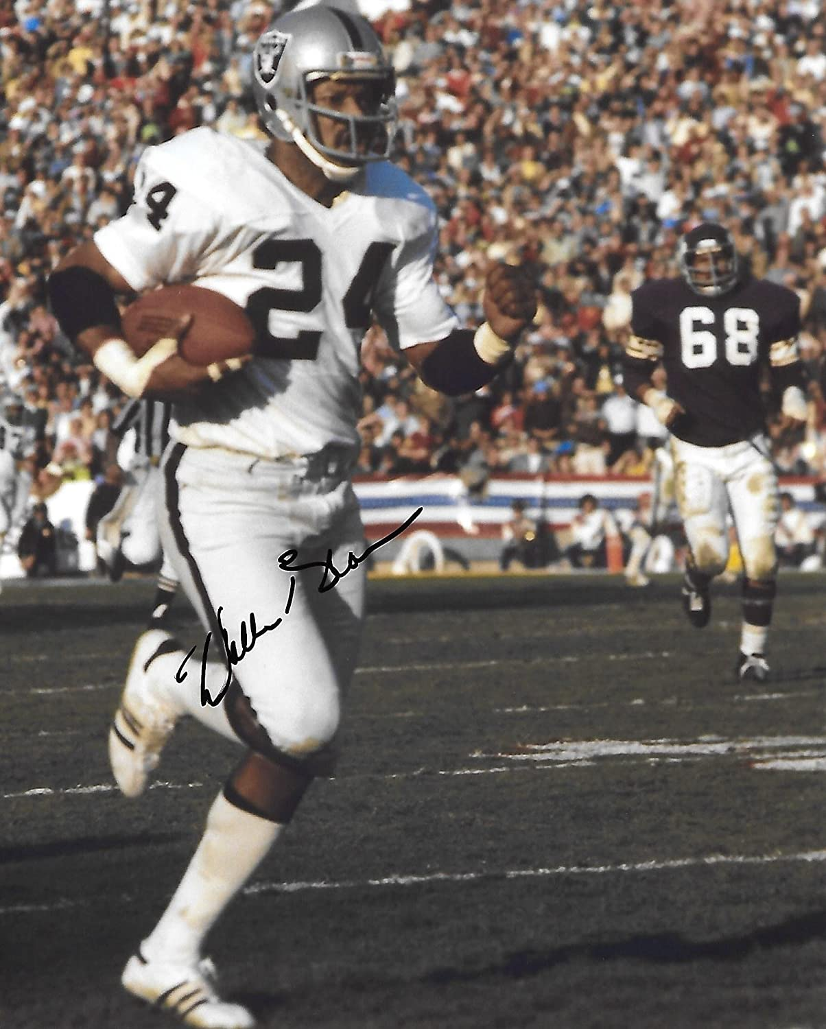 fc7d7dc9 Willie Brown, Oakland Raiders, Hof, Hall of Fame, Signed ...