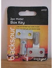 Triangular Steel Gas Electric Meter Box Keys (1 Set)