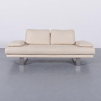 Amazonde Rolf Benz 6600 Leder Sofa Creme Beige Zweisitzer Couch