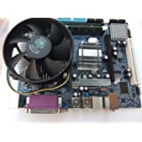 KharidiyeBasic Zebronics Motherboard Kit With 2.4Ghz Intel Core2 Duo CPU, 2GB DDR2 RAM & Intel CPU Fan