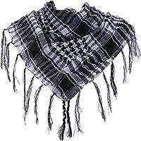 HDE Premium Arab Shemagh Keffiyeh Fashion Head Neck Scarf Wrap