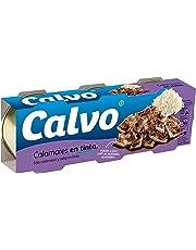 Calvo Calamares en Tinta - Paquete de 3 x 80 g - Total: 240 g