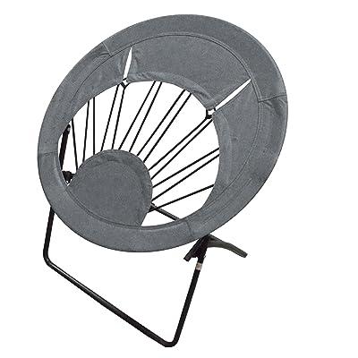 Impact Canopy 0460020013VC Folding Bungee Chair, Gray, Grey : Garden & Outdoor