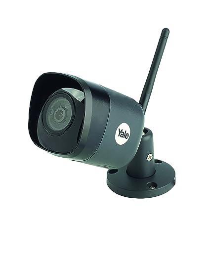 Yale SV-DB4MX-B Cámara Smart Home de Videovigilancia Por Wifi, Gris Oscuro