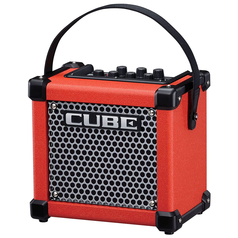 Roland Micro Cube GX Guitarra Amplificador + Keepdrum Guitarra Cable 3 m, rojo: Amazon.es: Instrumentos musicales